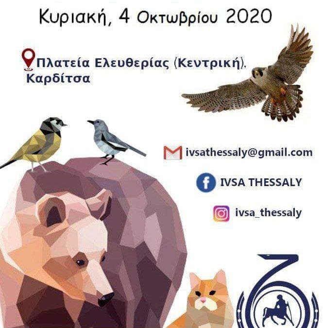 IVSA Thessaly για την Παγκόσμια Ημέρα των Ζώων