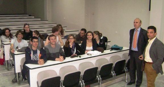 Φοιτητές από την Γαλλία εκπαιδεύονται στην Κτηνιατρική Σχολή του Πανεπιστημίου Θεσσαλίας